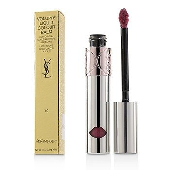 Yves Saint Laurent Volupte Liquid Colour Balm - # 10 Devour Me Plum
