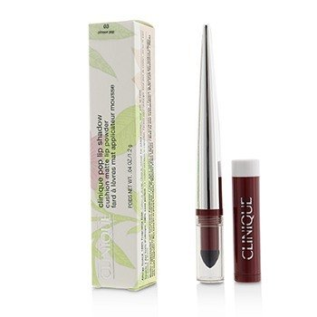 Clinique Pop Lip Sombra Cushion Polvo de Labios Mate - # 03 Crimson Pop