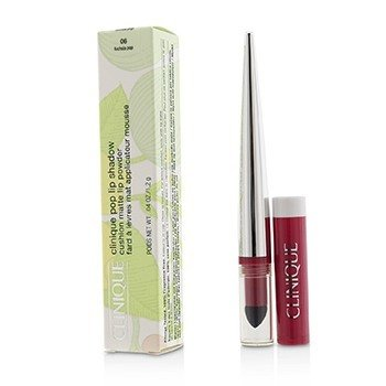 Clinique Pop Lip Sombra Cushion Polvo de Labios Mate - # 06 Fuchsia Pop