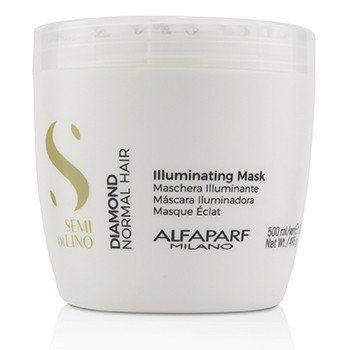 AlfaParf Semi Di Lino Diamond Mascarilla Iluminante (Cabello Normal)