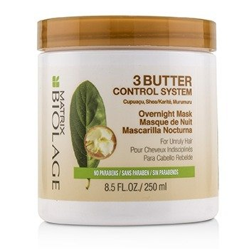 Matrix Biolage 3 Butter Control System Overnight Mask (For Unruly Hair)