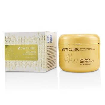 3W Clinic Collagen Paquete Para Dormir