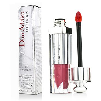 Christian Dior Addict Fluid Stick - # 379 Tropiques (Box Slightly Damaged)
