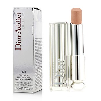 Christian Dior Dior Addict Be Iconic Vibrant Color Spectacular Shine Lipstick - No. 338 Mirage (Box Slightly Damaged)
