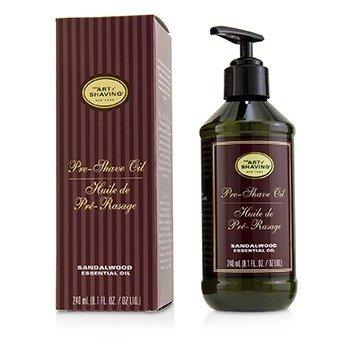 The Art Of Shaving Aceite de Pre Afeitado - Sandalwood Essential Oil (Con Bomba)
