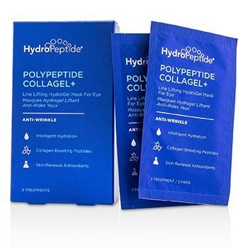 HydroPeptide Polypeptide Collagel+ Line Lifting Hydrogel Mascarilla Para Ojos