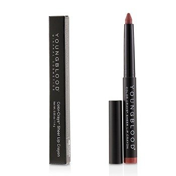 Youngblood Color Crays Matte Lip Crayon - # Coronado
