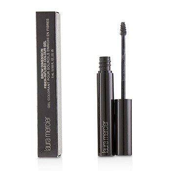 Laura Mercier Brow Dimension Gel Color Infundido de Fibras - # Black