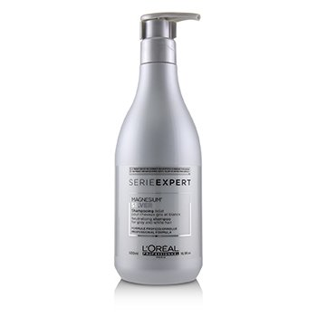 LOreal Professionnel Serie Expert - Silver Magnesium Neutralising Shampoo (For Grey and White Hair)
