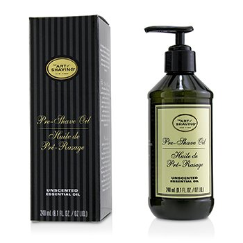 The Art Of Shaving Aceite de Pre Afeitado - Unscented (Con Bomba)