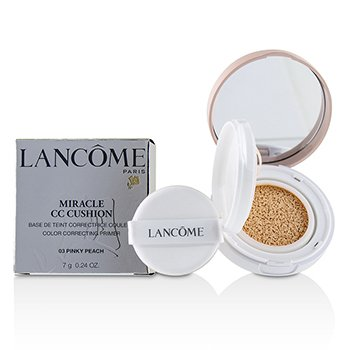 Lancome Miracle CC Cushion Color Correcting Primer - # 03 Pinky Peach