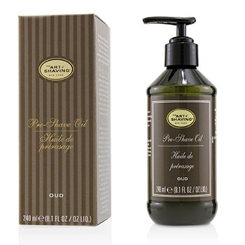 The Art Of Shaving Aceite Pre-Afeitado - Oud (Con Bomba)