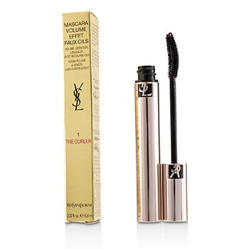 Yves Saint Laurent Volume Effet Faux Cils The Curler Máscara - # 01 Rebellious Black
