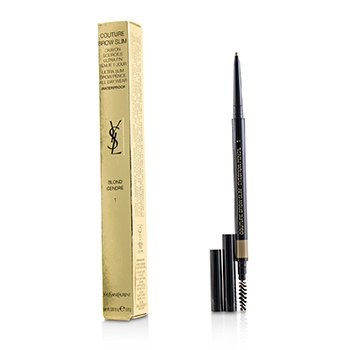Yves Saint Laurent Couture Brow Slim Waterproof - # 1 Blonde Cendre