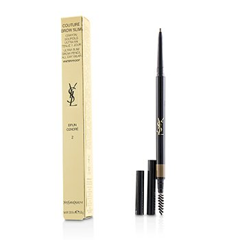 Yves Saint Laurent Couture Brow Slim Waterproof - # 2 Brun Cendre