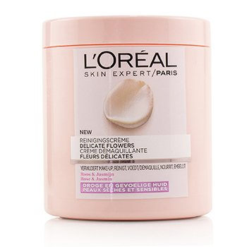 LOreal Skin Expert Delicate Flowers Cleansing Cream - For Dry Skin