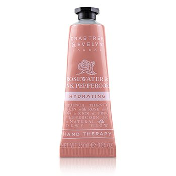 Crabtree & Evelyn Rosewater & Pink Peppercorn Terapia de Manos Hidratante