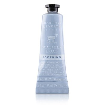 Crabtree & Evelyn Goatmilk & Oat Terapia de Manos Calmante