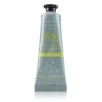 Crabtree & Evelyn Pear & Pink Magnolia Uplifting Terapia de Manos
