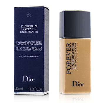 Christian Dior Diorskin Forever Undercover 24H Wear Full Coverage Water Based Foundation - # 030 Medium Beige