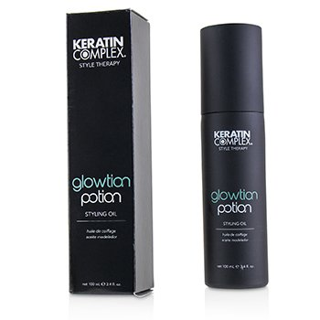 Keratin Complex Style Therapy Glowtion Potion Aceite de Peinar (Para Cabello Saludable, Suave y Brillante)