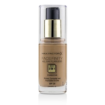 Max Factor Face Finity All Day Flawless Base 3 en 1 SPF20 - #85 Caramel
