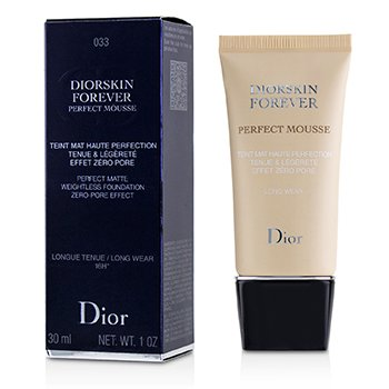 Christian Dior Diorskin Forever Perfect Mousse Foundation - # 033 Apricot Beige