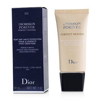 Christian Dior Diorskin Forever Perfect Mousse Foundation - # 050 Dark Beige