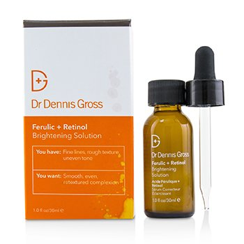Dr Dennis Gross Ferulic + Retinol Brightening Solution (Box Slightly Damaged)