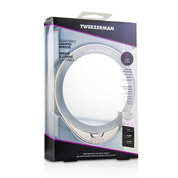 Tweezerman Espejo Iluminado Ajustable