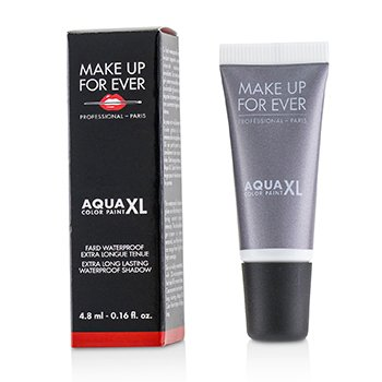 Make Up For Ever Aqua XL Color Paint Sombra A Prueba de Agua - # I-12 Iridescent Steel Gray