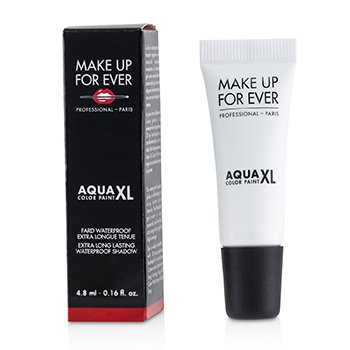 Make Up For Ever Aqua XL Color Paint Sombra A Prueba de Agua - # M-16 Matte White