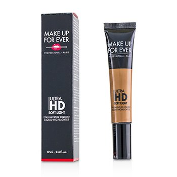 Make Up For Ever Líquido Iluminante Ligero Suave Ultra HD - # 50 Golden Copper