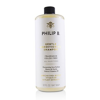 Philip B Gentle Conditioning Shampoo (Fragrance Color Free - All Hair Types)