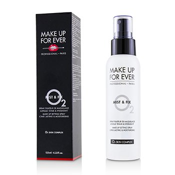 Make Up For Ever Mist & Fix Spray Establecedor de Maquillaje (O2 Skin Complex)