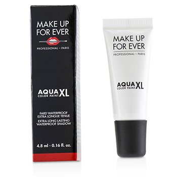 Make Up For Ever Aqua XL Color Paint Sombra A Prueba de Agua - # L-14 Lustrous White