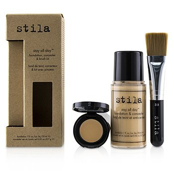 Stila Kit Stay All Day Base, Corrector & Brocha - # 2 Fair