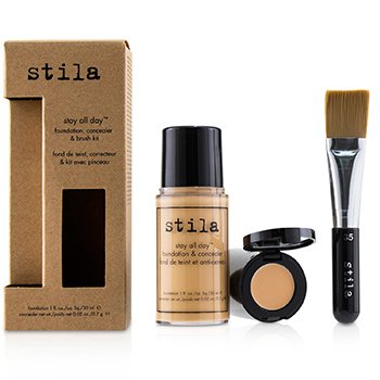 Stila Kit Stay All Day Base, Corrector & Brocha - # 6 Tone
