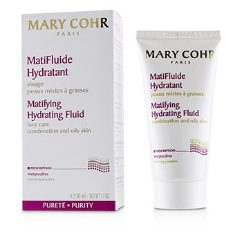 Mary Cohr Matifying Hydrating Fluid - For Combination & Oily Skin