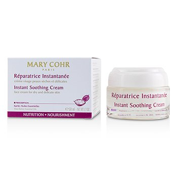 Mary Cohr Instant Soothing Cream - Face Cream For Dry & Delicate Skin