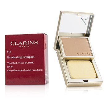 Clarins Everlasting Compact Foundation SPF 9 - # 113 Chestnut
