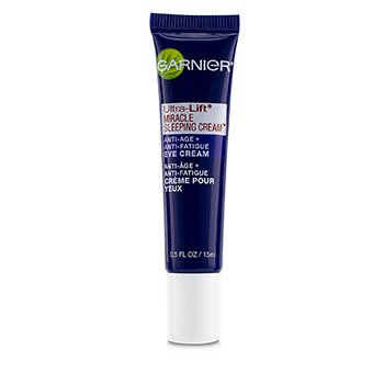 Garnier SkinActive Ultra-Lift Miracle Sleeping Cream Gel de Ojos Anti-Fatiga (Sin Caja)