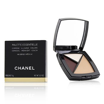 Chanel Paleta Essentielle (Corrige, Ilumina y Colorea) - # 160 Beige Medium