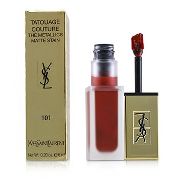 Yves Saint Laurent Tatouage Couture Los Metálicos - # 101 Chrome Red Clash