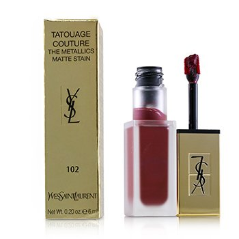 Yves Saint Laurent Tatouage Couture The Metallics - # 102 Iron Pink Spirit