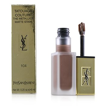 Yves Saint Laurent Tatouage Couture The Metallics - # 104 Rose Gold Riot
