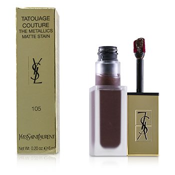 Yves Saint Laurent Tatouage Couture The Metallics - # 105 Magnetic Prune Temper