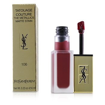 Yves Saint Laurent Tatouage Couture The Metallics - # 106 Gilded Fuchsia Rivals