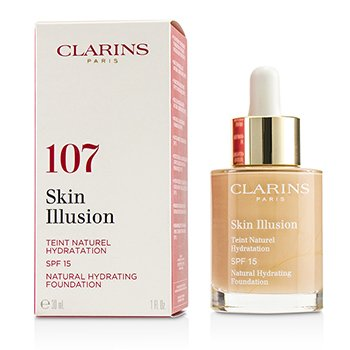 Clarins Skin Illusion Natural Hydrating Foundation SPF 15 # 107 Beige
