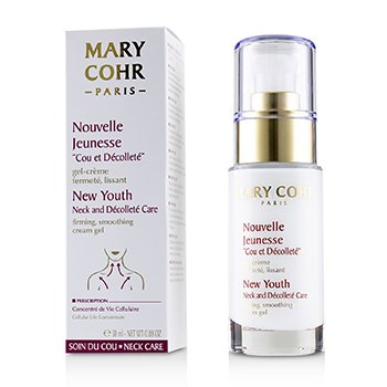 Mary Cohr New Youth Gel Crema de Cuello & Escote Cuidado Reafirmante, Suavizante
